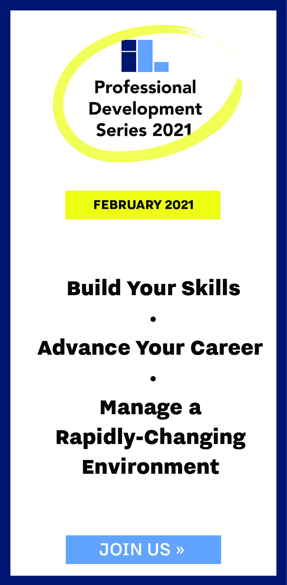 Professional Development Series, Feburary 2021