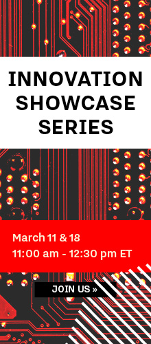 Innovation Leader Showcase Series, March 11 & 18, 2021